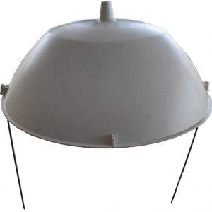 Ccampana sombrero blanqueo escarola